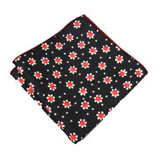 Men Pocket Square Handkerchief Vintage Hankies Kerchief Hanky for Wedding Party