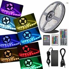 3528/5050 SMD/RGB 300 LED Strip Light Lamp Ribbon Tape Roll IP65 Dimmable Hotel