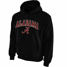 Alabama Crimson Tide Midsize Arch Pullover Hoodie - Black - College