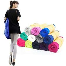 Womens Cotton High Waist Elasticity Leggings Skinny Pants Jeggings 16 Colors