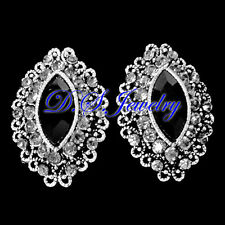 Exquisite & Revival Colorful Crystal Rhinestones Cluster Earrings