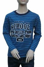 T Shirt Million X Boys Longsleeved Shirt blue Size 128 176