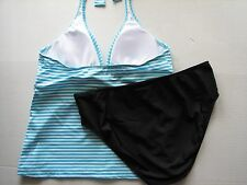 NWT Nautica Leeward Halter Tankini Swim Bathing Suit