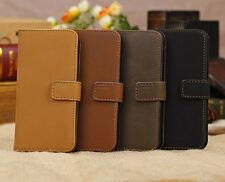 Luxury Retro Leather Card Flip Case Stand Cover Pouch For Apple iPhone 5/5C/5S