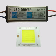20W LED Cool Warm White CHIP + 20W Driver LED Waterproof Constant Current LA4