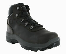 Hi-Tec Blaze Waterproof Safety Composite Toe Cap Brown Leather Mens Work Boots