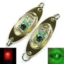 New Eye Shape Fishing Squid Fish Flash Lamp LED Deep Drop Underwater Lure Light