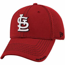 New Era St. Louis Cardinals Red Neo 39THIRTY Stretch Fit Hat - MLB