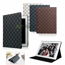 Luxury Leather Smart Case Stand Cover For Apple iPad 2/3/4/5 ipad Air/Air 2 mini