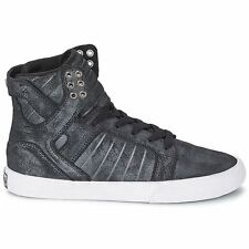 Supra Skytop Black Womens Trainers