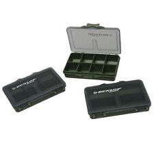Dunlop Lightweight Compartment Boxes Fishing Angler Tackle Accessory Pack New
