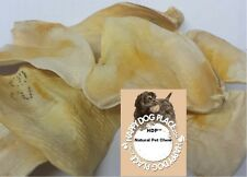 HDP Cow Beef Ears dog Natural Treat Chew Less fat then pig ears