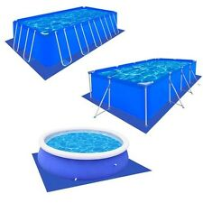 #bNew Outdoor Swimming Pool Sheet Cloth Tarp PE Protection Sheet Protector 5Size