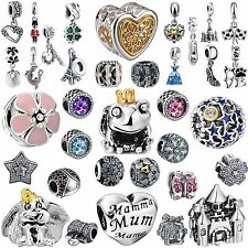 New Fashion 2017 Brand Jewelry 925 Sterling Silver Charms Fit Girl Bead Bracelet