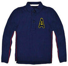 Boys Polo Shirt New Baby Long Sleeved T Shirt 100% Cotton Top 9 Months - 3 Yrs