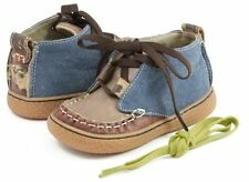 NIB LIVIE & LUCA Shoes Rover Blue Brown Toddler 4 5