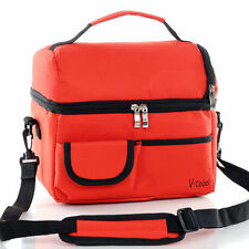 Large Capacity Picnic Lunch Bag Insulated Cooler Warm Tote Travel Organizer Box