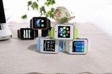 0.3Mp Camera Bluetooth Smart Wrist Watch Support SIM TF For Android IOS Phone