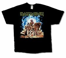 Iron Maiden Ed Breaking Pyramids USA CDN Tour 2012 Mens Black T Shirt New