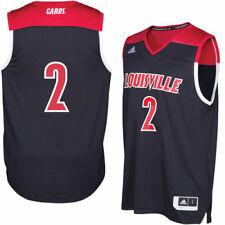 Men's adidas Black Louisville Cardinals 2016 March Madness Basketball Jersey