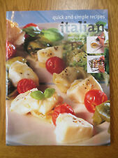 COOK BOOK COOKING ITALIAN Quick and Simple Recipes Cookery Step by Step