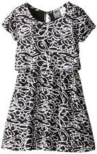 Pogo Club Girls Black & White Sarah Dress Size 4 5/6 6X $36
