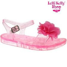 Lelli Kelly LK9944 (AC98) Transparent Pink Fiore Sandals