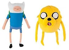 """Adventure Time Finn and Jake 12"""" Soft Plush Toys Officially Licensed"""