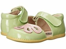 NIB LIVIE & LUCA Shoes Petals Petunia Green Pink Patent Leather 5 7 8 9 11