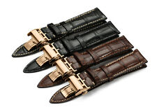 20mm 21mm Handmade Genuine Leather Watch Band Strap For Longines Strap Wristband