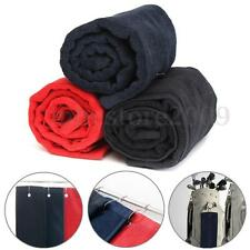 40x60cm Tri-Fold Golf Bag Sports Hiking Cotton Towel With Hanging Ring Carabiner