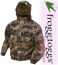 1-FROGG TOGGS RAIN GEAR-PA652-53 PRO ACTION RT AP HD CAMO JACKET WOMENS HUNTING