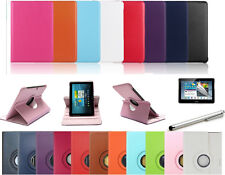 for SAMSUNG GALAXY TAB 2 10.1 P5100 P5110 P5113 Cover Leather Case 360 Rotating