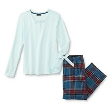 Joe Boxer Women's Pajama Top & Pants - Plaid