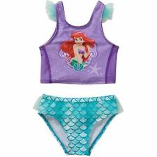 DISNEY THE LITTLE MERMAID 2T, 3T Toddler Girls' Tankini Swimsuit *NWT*