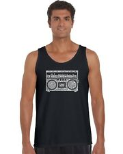 Men's Tank Top - Greatest Rap Hits of The 1980's