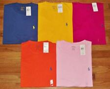NEW NWT Mens Polo Ralph Lauren Crewneck T-Shirt Pony Logo Choice of 5 Colors $29