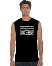 Men's Sleeveless Shirt - Greatest Rap Hits of The 1980's