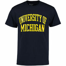 Michigan Wolverines Champion University T-Shirt - Navy - College