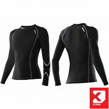 2XU Womens Compression Long Sleeve Top XForm Baselayer for all sports [WA1985a]