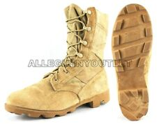 US Military COMBAT JUNGLE BOOTS Panama SPEEDLACE Hot Weather Desert Tan VGC
