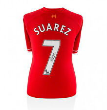 Luis Suarez Signed Liverpool Shirt 2013/2014 - Number 7