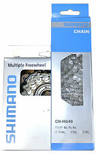 Shimano 6 or 7 fold Cogset Tourney Cassette with or without chain HG40