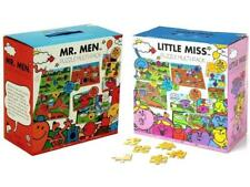 MR MEN / LITTLE MISS SUNSHINE 10 IN 1 JIGSAW PUZZLE MULTI-PACK OFFICIAL GIFT NEW