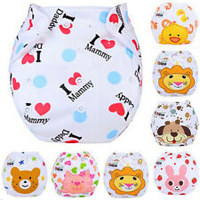 Washable Reusable Baby Infant Cloth Diaper Kids Nappy Cover Adjustable Diapers