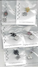Silver Quilt Block Charmed Needle Threader