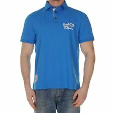 Soulcal Mens Pomona Polo Shirt T Shirt Tee Top Casual Classic Fit Short Sleeve