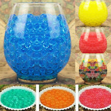 500pcs Water Plant Flower Jelly Crystal Soil Mud Water Pearls Gel Beads Balls