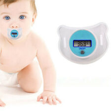 Safety Practical Baby LCD Digital Pacifier Thermometer Temperature Nipple