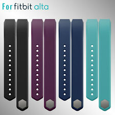 Size Large Replacement Wristband Band Classic Strap For Fitbit Alta No Tracker